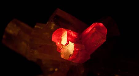 Aragonite Heart by Kamikaye