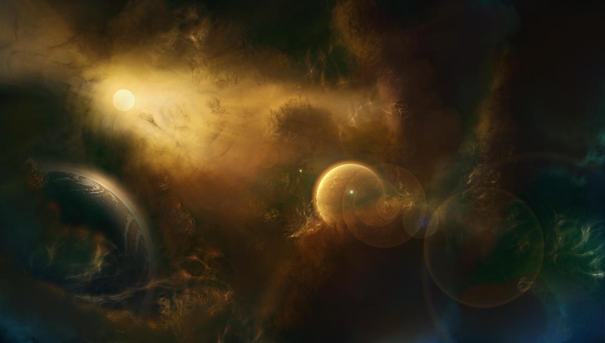 Nebula Space art by Kamikaye on DeviantArt