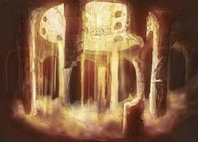 Underground Well by Kamikaye