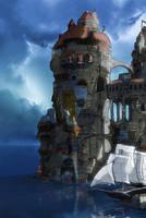 Islandcity 3 side by Kamikaye