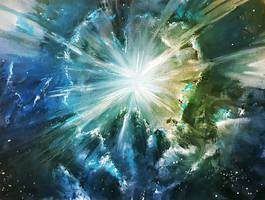 Frozen singularity by Kamikaye