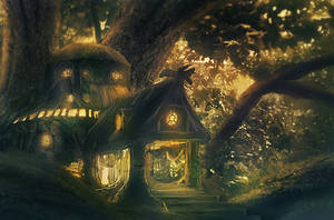Treehouse by Kamikaye
