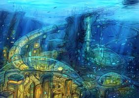 Underwater Cities by Kamikaye