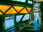 Urban Alley - Bladerunner tribute