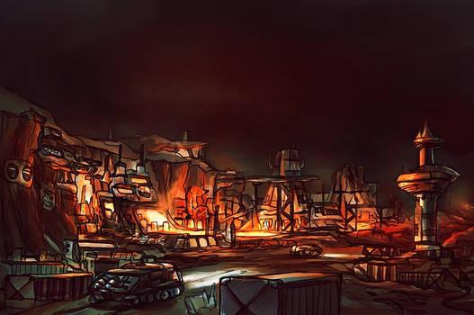 Industrial site concept