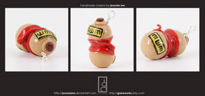 Gaara Gourd Charm by junosama