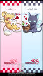 Kero and Spinel Bookmarks by junosama