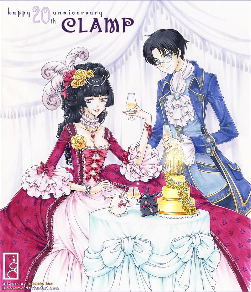 CLAMP 20th Anniversary By Junosama On DeviantArt