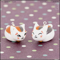 Nyanko-Sensei Charms by junosama