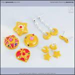 Sailor Moon Charms + Jewelry