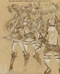 Shingeki no... Senshi? by junosama