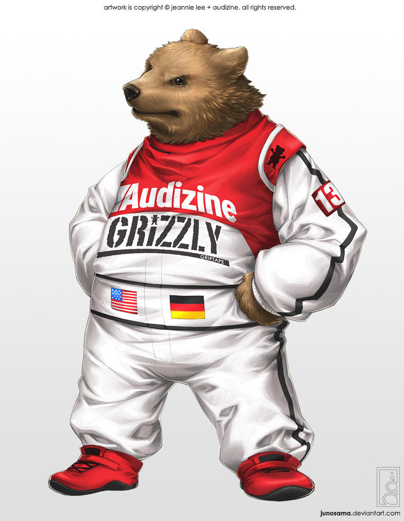 Audizine Grizzly Bear by junosama