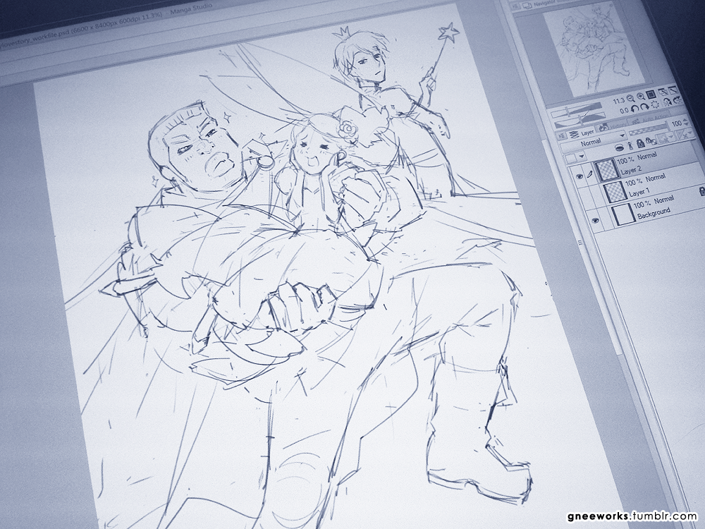 2015-06-14 WIP: Prince Takeo by junosama