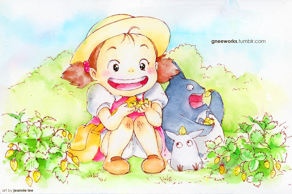 Fanart-A-Day 019: Finding Wild Strawberries by junosama