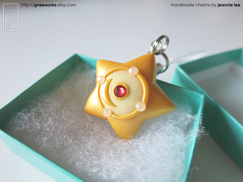 Serenity's Orgel (Star Locket) phone charm by junosama