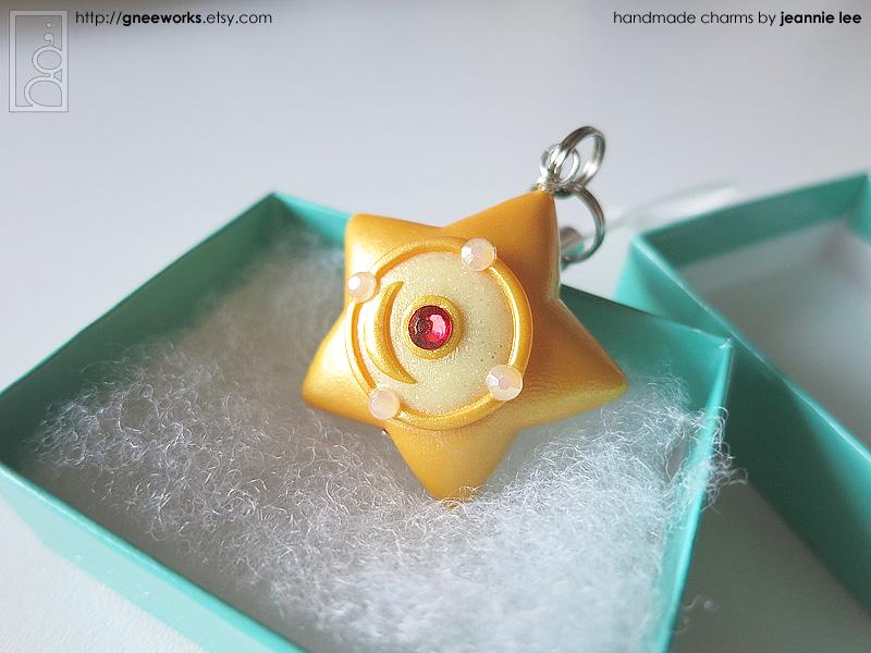Serenity's Orgel (Star Locket) phone charm by junosama