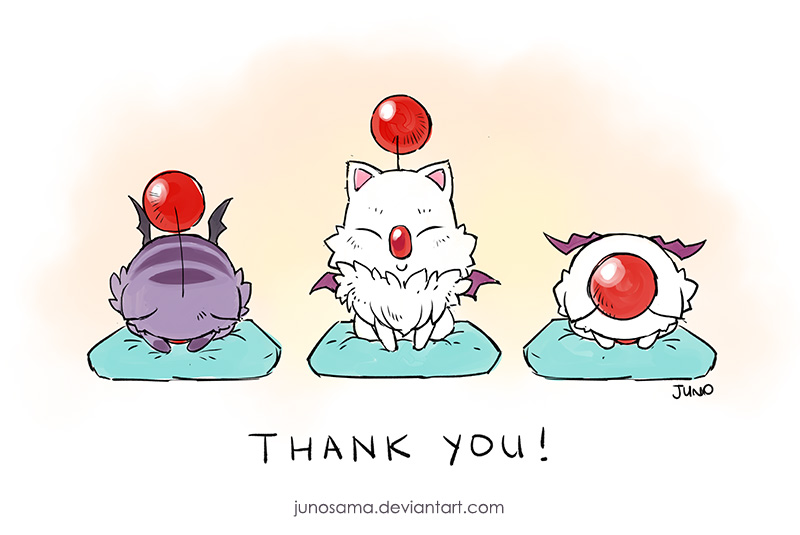 Thank you!! by junosama