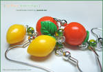 Fruit - Citrus Earrings 1