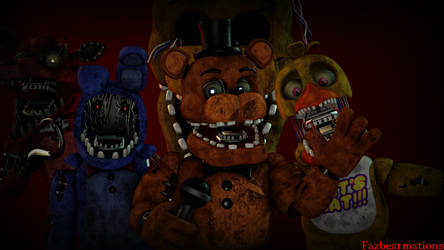 [SFM FNAF CONTEST] The Withereds by Fazbearmations