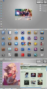 Desktop Faenza Windows XP