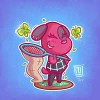 Animal Crossing - The bug bet!