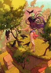 Suka - crows by Odinrules