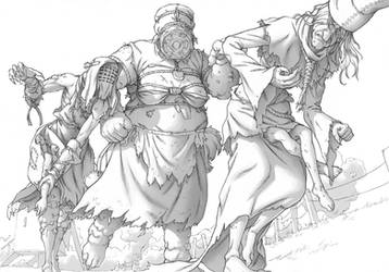The witcher 3 - Crones
