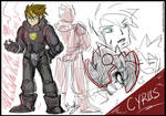 Chrono Trigger Redesigns (2/12) - Cyrus by Tindyflow