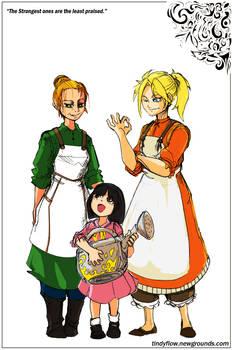Best Persons- Elmyra, Marlene, Claudia -FFVII-R
