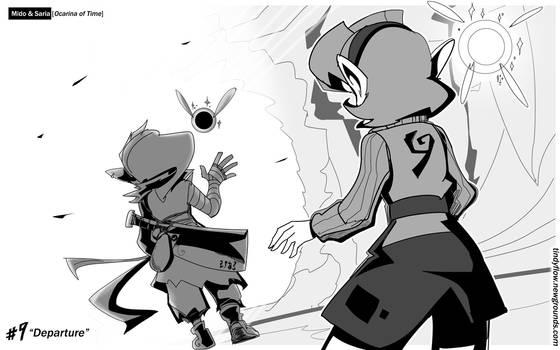 9- Mido and Saria [Ocarina of Time]
