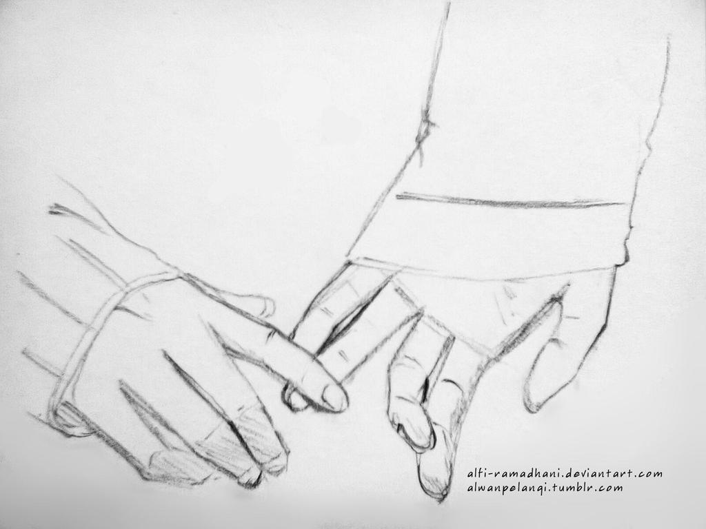 Holding hands by alfi ramadhani