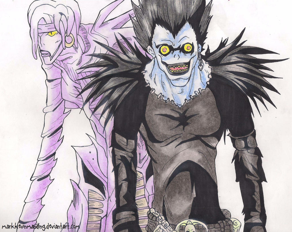 death note ryuk and rem - photo #2