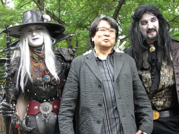 Hideyuki Kikuchi and Kevin and I by Dakatsu1112
