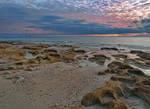 Sunset  Flipper beach