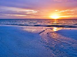 Rivulet sunrise by peterpateman
