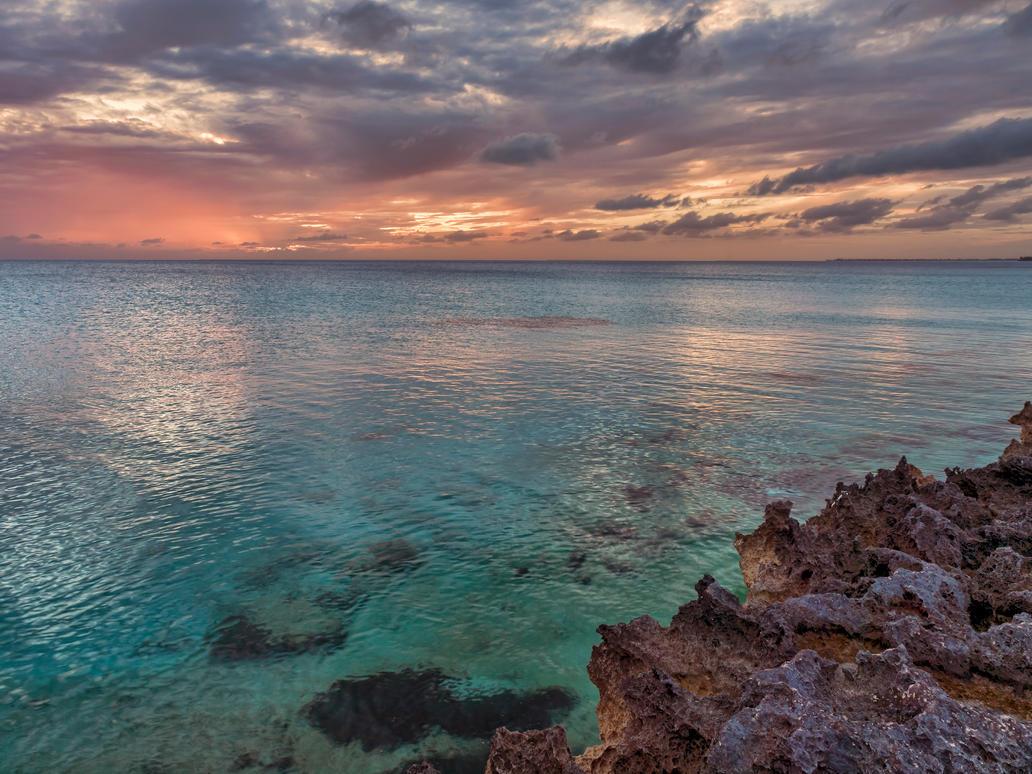 Baja mar sunset by peterpateman