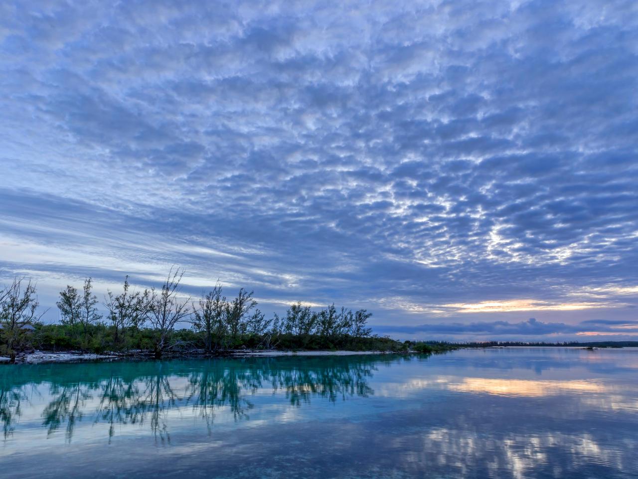 Sunset Orange Creek by peterpateman