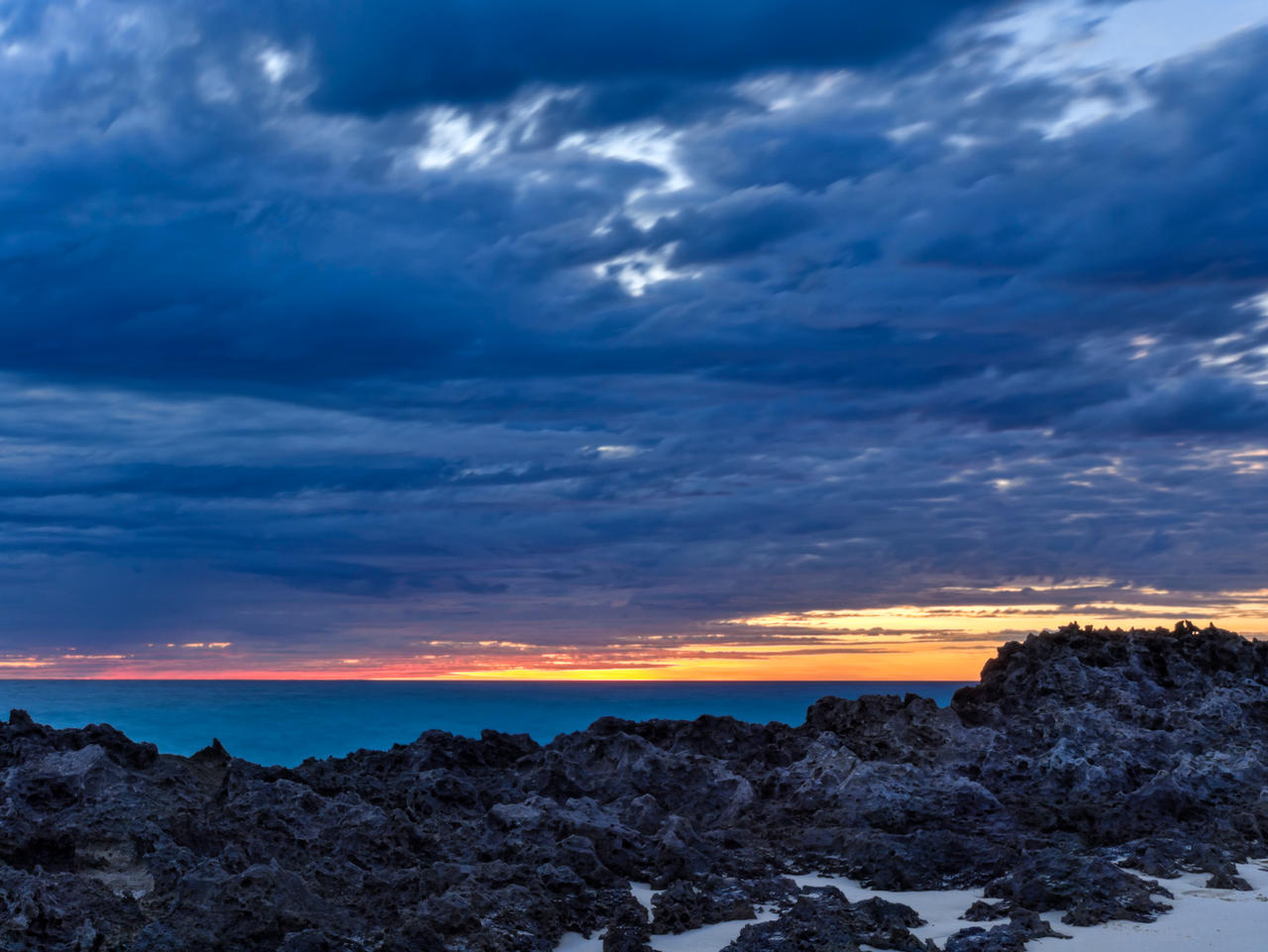 Sharprock sunset. by peterpateman