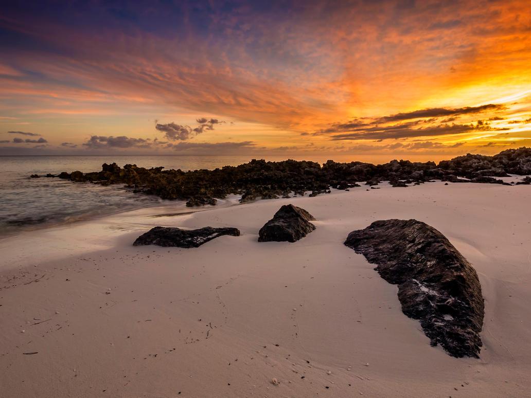November sunset by peterpateman
