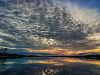 Altocumulus Sunset