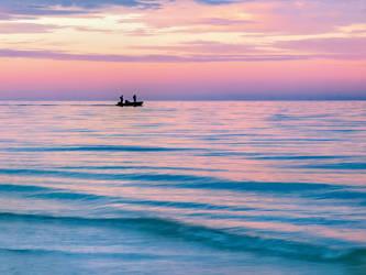 Fishermen returning