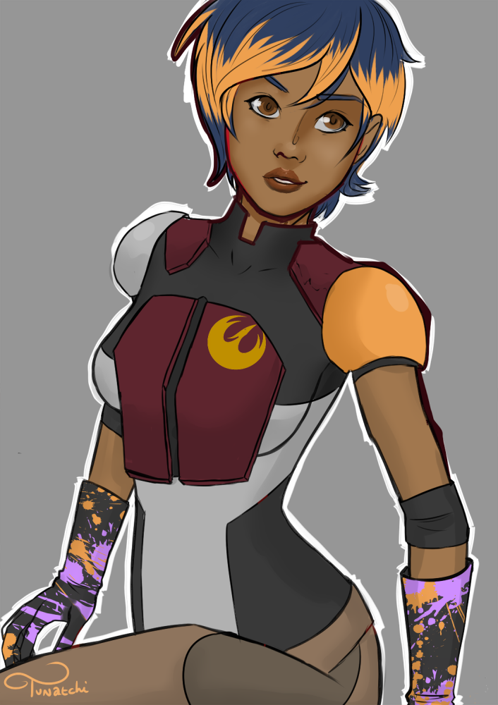 Sabine hot star wars rebels Rebels