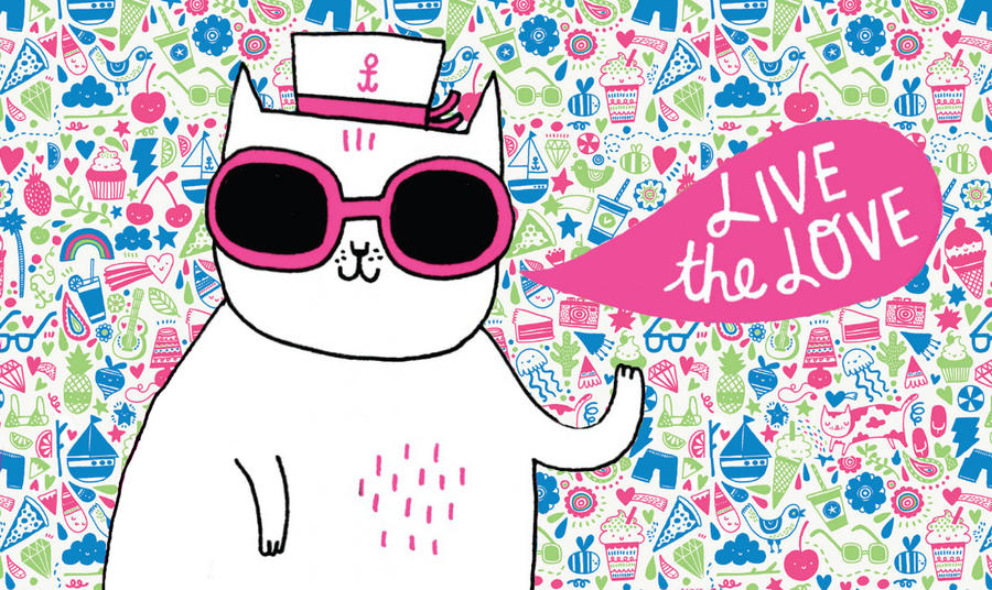Catmy wallpaper by kamysweet