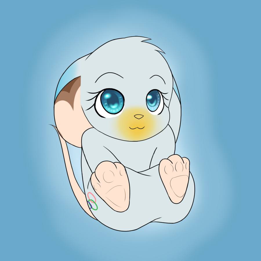 Olympiade Baby Mouse by FrostynoTen