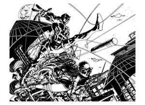Daredevil and Elektra - INK