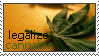 legalize cannabis stamp by bbagels