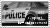 i support law enforcement stamp by bbagels