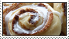 cinnamon bun stamp 1/2 by bbagels