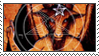 Baphomet stamp by bbagels