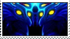 (Subnautica) Ghost Leviathan stamp 2 by bbagels